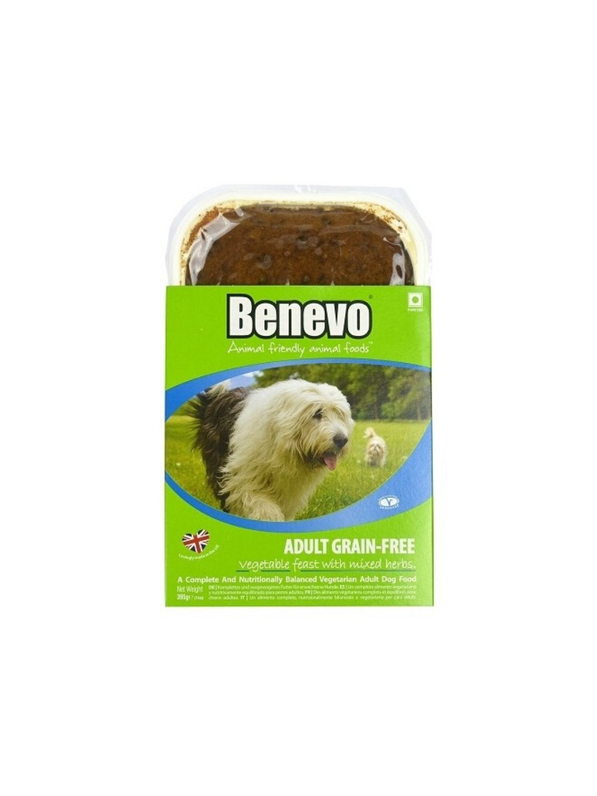 BENEVO krmivo Adult Grain-Free Vegetable Feast With Mixed Herbs 395 g