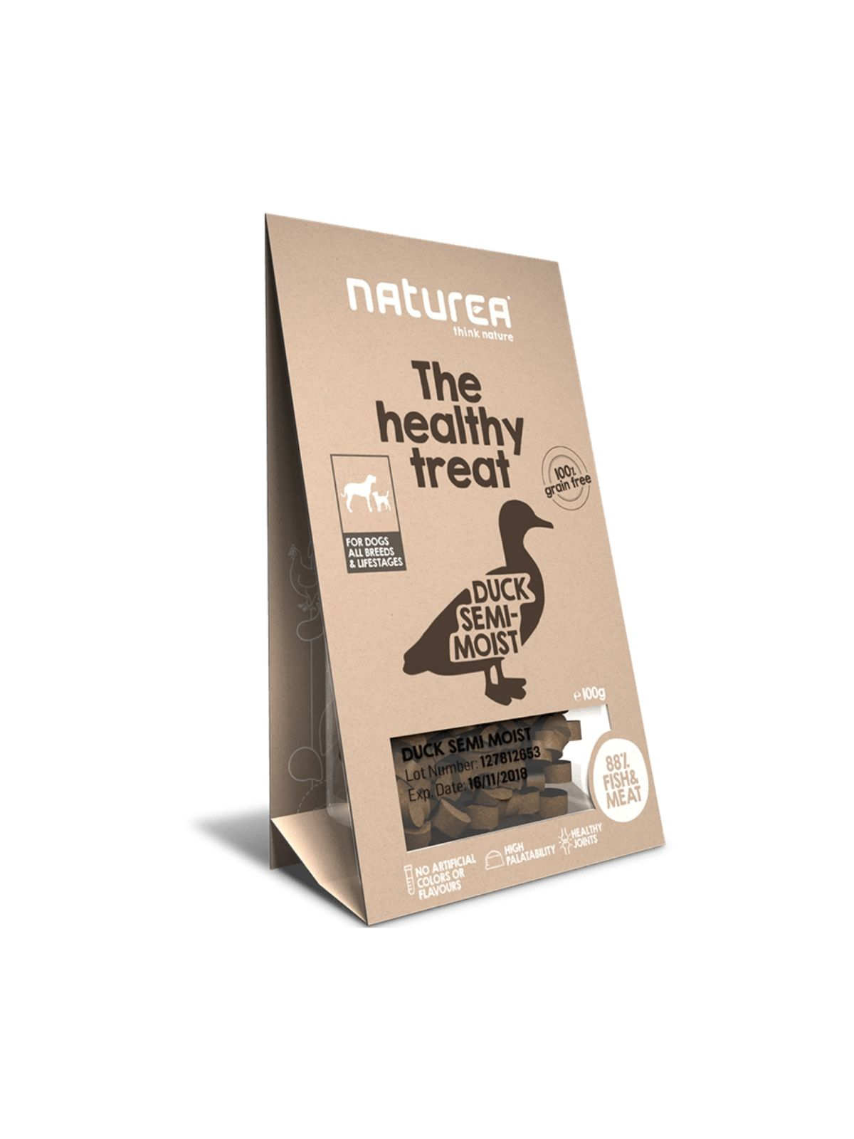 NATUREA treat kačka 100g