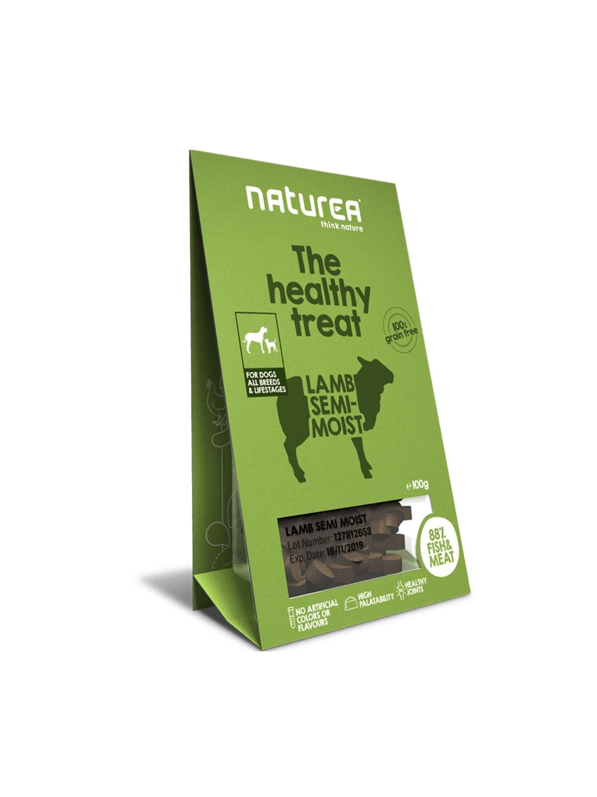 NATUREA treat jahňa 100g