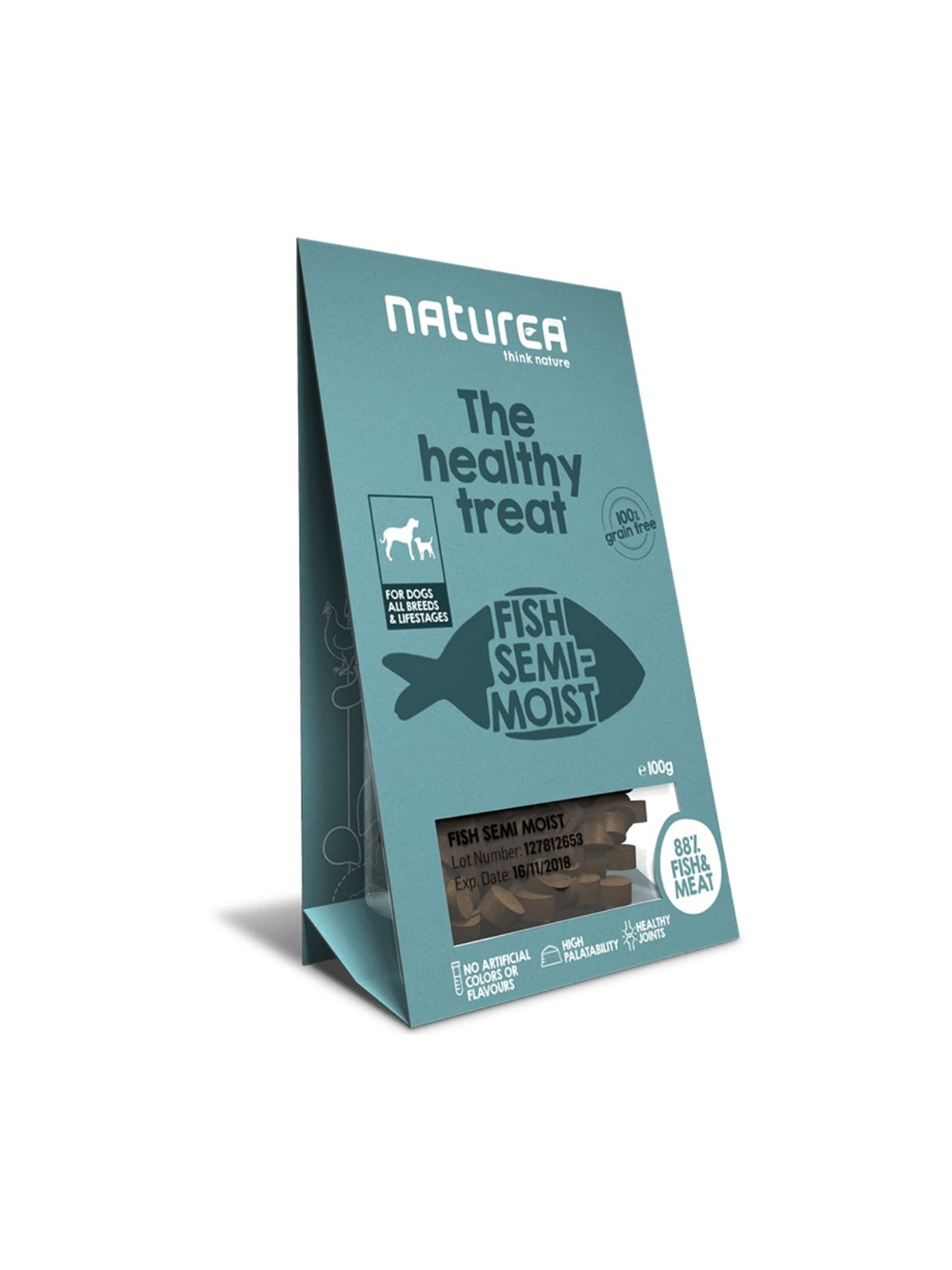 NATUREA treat ryba 100g