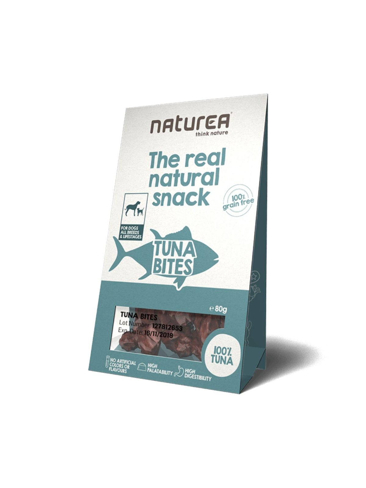 NATUREA snack tuniak 80g
