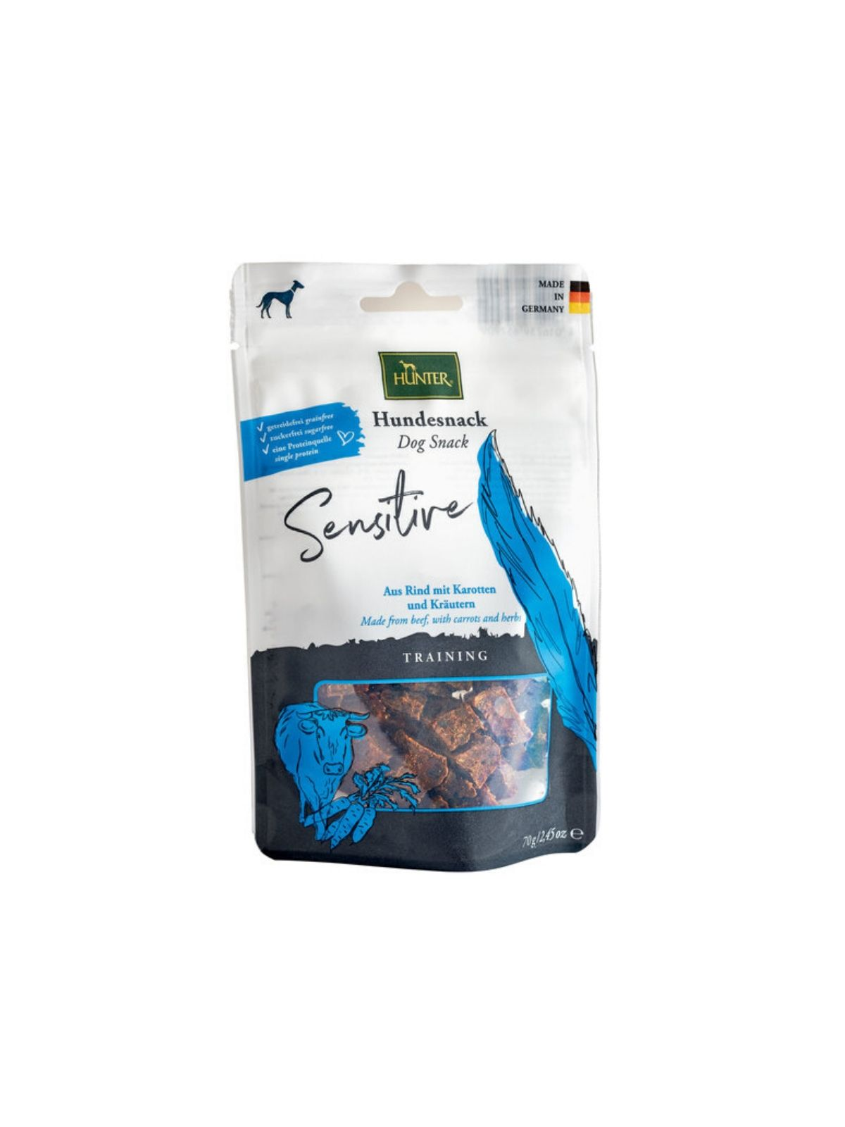 HUNTER Training Sensitive snack 70 g
